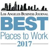 Nelson Hardiman Named a 'Best Place to Work in Los Angeles' by the Los Angeles Business Journal