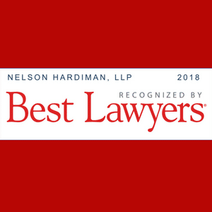 Three Nelson Hardiman Attorneys Named to 2018 Best Lawyers in America List