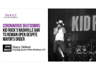 Coronavirus shutdowns: Kid Rock's Nashville bar to remain open despite mayor's order